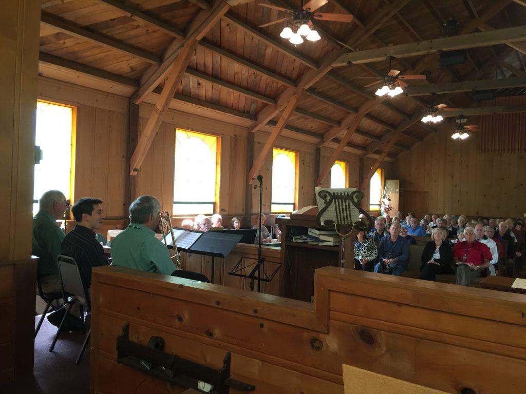 A full sanctuary for Jazz Sunday 2016