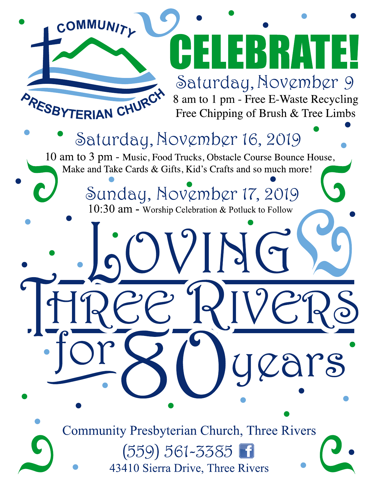 80 Years Celebration Flier UPDATE