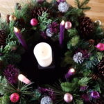 Our beautiful Advent wreath