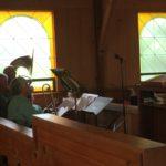 High Sierra Jazz Band during Jazz Sunday Worship